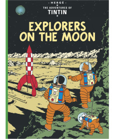 A4 Album UK - Soft Cover - Explorers on the moon