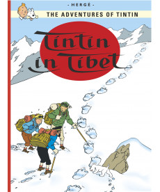 A4 Album UK - Soft Cover - Tintin in Tibet