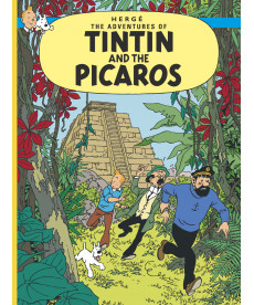 A4 Album UK - Soft Cover - Tintin and the Picaros