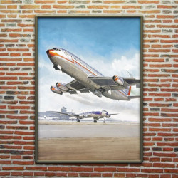 BOEING 707 ET CONSTELLATION - LUCIO PERINOTTO
