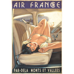 TOILE AIR FRANCE - HUGAULT