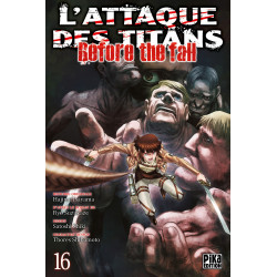 L'ATTAQUE DES TITANS - BEFORE THE FALL T16