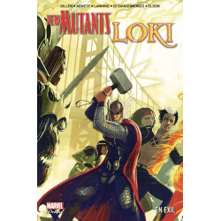 NEW MUTANTS & LOKI: EN EXIL