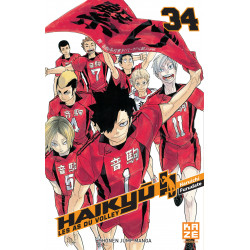 HAIKYU !! - LES AS DU VOLLEY T34