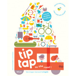 TIP TAP ON THE ROAD - MON IMAGIER INTERACTIF IN ENGLISH