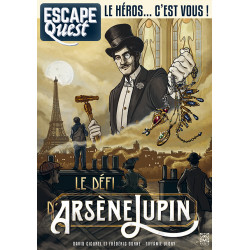 ESCAPE QUEST T04 - LE SECRET D'ARSÈNE LUPIN